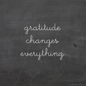 Sunday Sessions: Attitude Of Gratitude