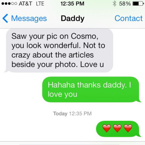 Lucy Hale's Dad is not a big fan of her new Cosmo cover...