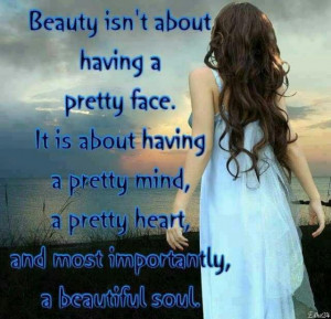 True beauty lies within