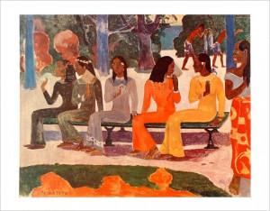 Paul Gauguin >> Ta Matete (nous n irons pas au marché actuel ...