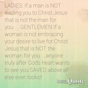 Desire a Godly man/woman