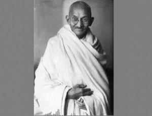 ... protests against the British domination of India, Mahatma Gandhi