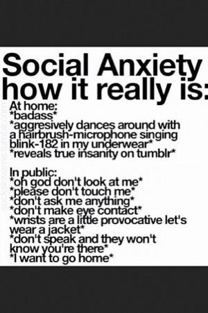 Social Anxiety: Life, Stuff, Quotes, Mental Health, Funny, Random ...