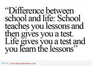 Quotes about life lessons waywardpencils quotes about life lessons ...