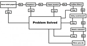 Toilet Paper Flowchart