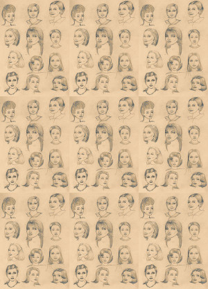 wallpaper tiled. 70's Retro Wallpaper Tile - 01 [DIG-9102] : Designer ...