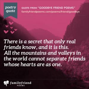 Goodbye Best Friend Poems That Make You Cry Goodbye friend poems