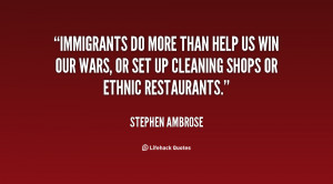 Immigrants Quotes