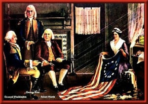 ... does it have proof (sadly) that the story of Betsy Ross is accurate