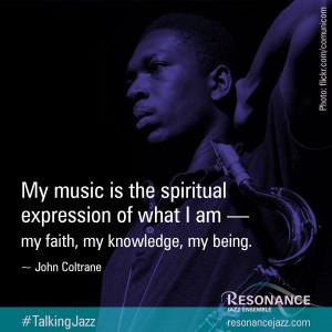 ... ResonanceJazz: #TalkingJazz visual campaign   #jazz #music #quote