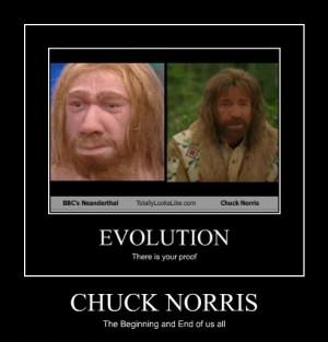 Chuck Norris, Neanderthal
