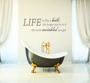 Bathroom Wall Art Quotes