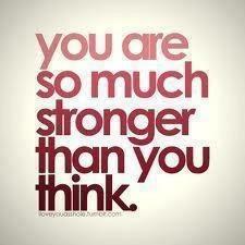 Believe in your strength