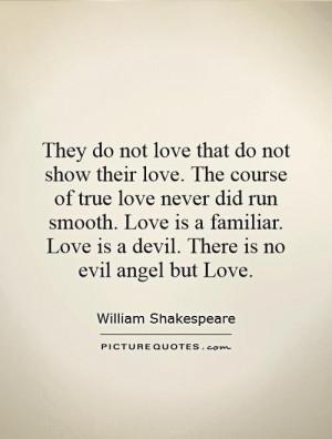 true love never did run smooth essay