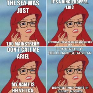 Hipster Mermaid