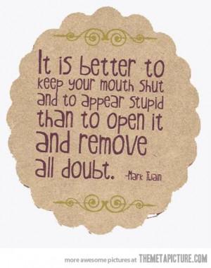 funny quote Mark Twain