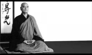 """Japanese Zen Monk, Taisen-Deshimaru  """"Time is not a line, but a ..."""