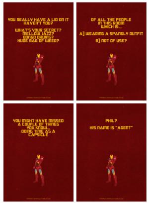IamKyon Iron Man- The Avengers Quotes