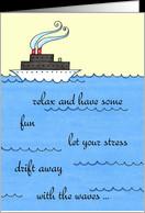 Bon Voyage - Cruise Ship Card - Product #932826