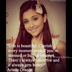 ArianaGrande ArianaGrandequotes quotes celebrity celebrityquotes