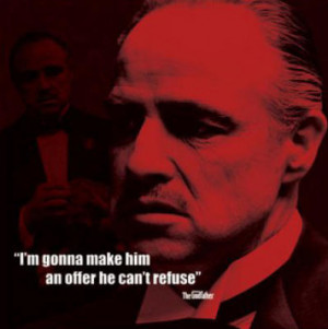 Original articles from our library related to the The Godfather Quotes ...