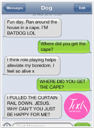 Text from Dog - Super funny texts from dog | Pretty Fluffy