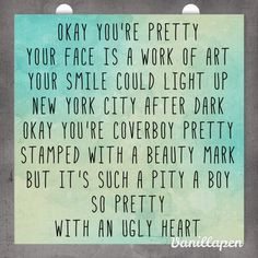 ugly heart lyrics g r l more g r l ugly heart ugly heart grl quotes ...