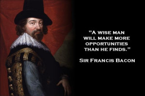 Sir francis bacon quote
