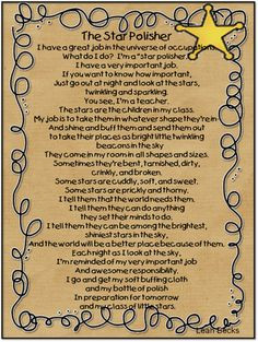 printable of this sweet poem to print and be reminded of our job as ...
