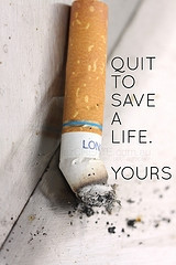 """Don't smoke"""" quotes?"""