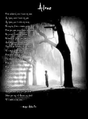 Alone~ Edgar Allan Poe