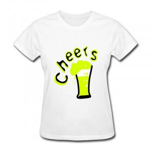 Cheers Beer Quote T shirt cheers beer design