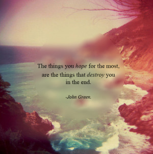 John Green Quotes Awesome...