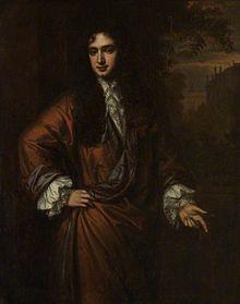 Portrait of John Wilmot by Sir Peter Lely , Dillington House