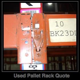 Used Pallet Racks Quote