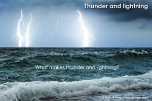 Quotes About Thunder And Lightning