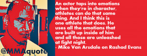 Mike Van Arsdale on Athletes and Actors