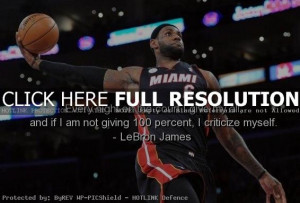 Lebron James Inspirational Basketball Quotes Inspirational basketball