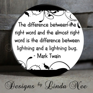 ... Right Word Is The Difference Between Lightning And A Lightning Bug