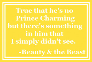 Beauty and the Beast Disney Love Quotes Beauty Beast