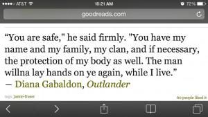 Jamie Fraser Outlander Quotes Love