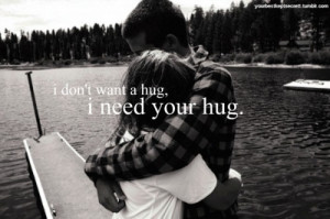 Need Your Hug: Quote About I Need Your Hug ~ mactoons.com Daily ...