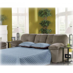 ... Sofas / Sleeper Sofa / Ashley Furniture Inger Dune Full Sofa Sleeper