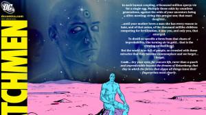 Dr Manhattan Watchmen Time Quote
