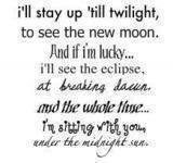 Twilight Series Twilight Poem