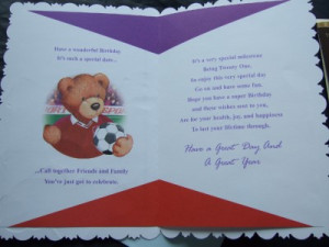about 21st BIRTHDAY CARD ~ WITH FABULOUS VERSES ~ Choice of great ...