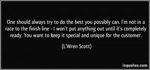 More L'Wren Scott Quotes