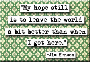 Jim Henson Quote Magnet no191 by chicalookate on Etsy, $4.00