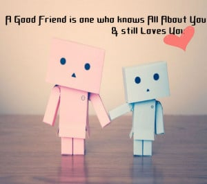 Full View and Download A Good Friend Friendship Image with resolution ...
