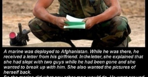 Marines Girlfriend Quotes How a u.s. marine deals with a